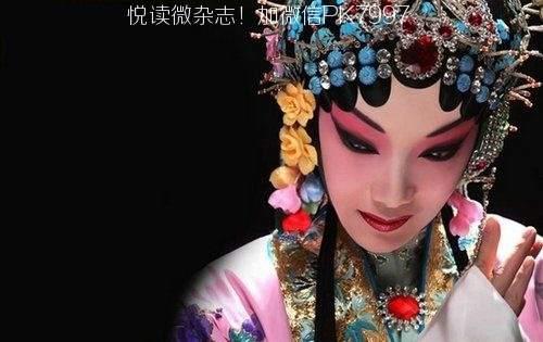 唯美中国风图片:戏子入画,一生天涯 (1)