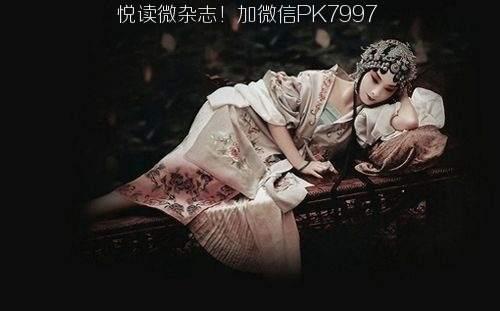 唯美中国风图片:戏子入画,一生天涯 (10)