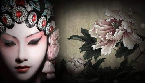 唯美中国风图片:戏子入画,一生天涯 (11)
