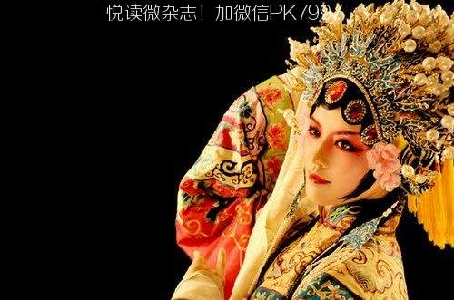 唯美中国风图片:戏子入画,一生天涯 (12)