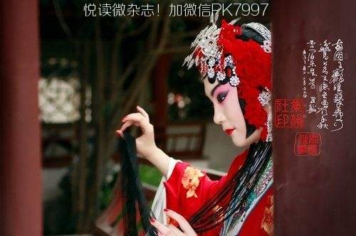 唯美中国风图片:戏子入画,一生天涯 (2)
