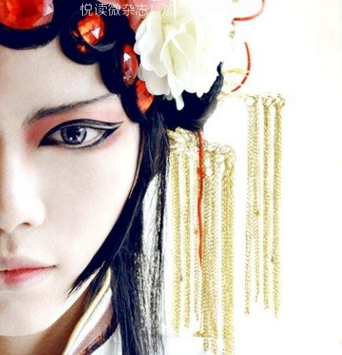 唯美中国风图片:戏子入画,一生天涯 (3)