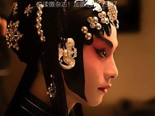 唯美中国风图片:戏子入画,一生天涯 (4)