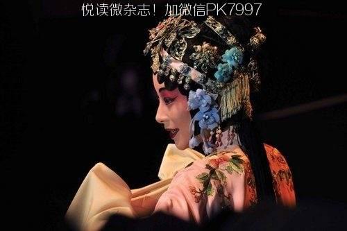 唯美中国风图片:戏子入画,一生天涯 (5)