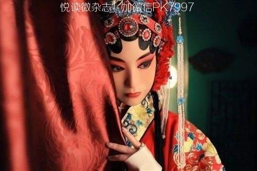 唯美中国风图片:戏子入画,一生天涯 (6)
