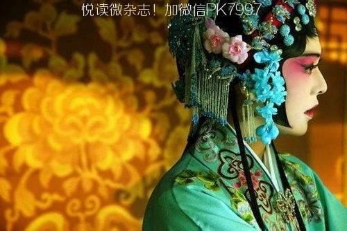 唯美中国风图片:戏子入画,一生天涯 (7)