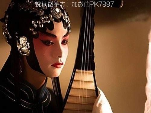 唯美中国风图片:戏子入画,一生天涯 (9)
