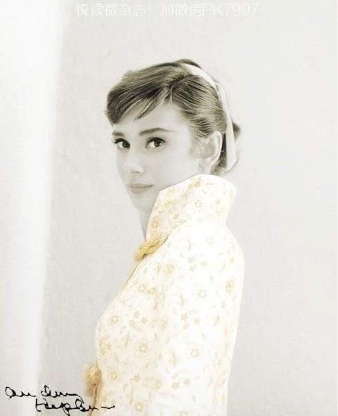 奥黛丽赫本的美丽图片 (1)