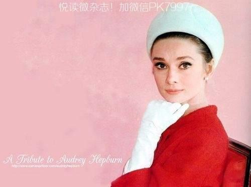 奥黛丽赫本的美丽图片 (12)