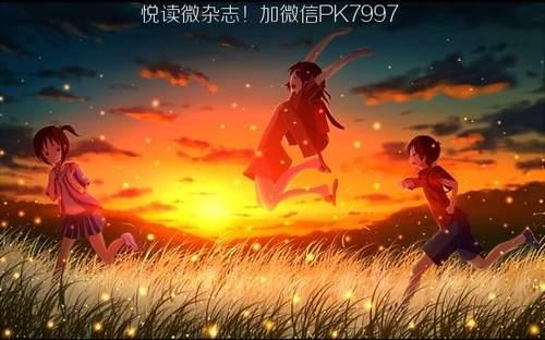 动漫壁纸:萤火虫场景图片 (11)