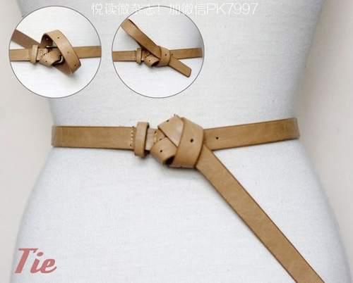 皮制腰带的14种时尚系法 (14)
