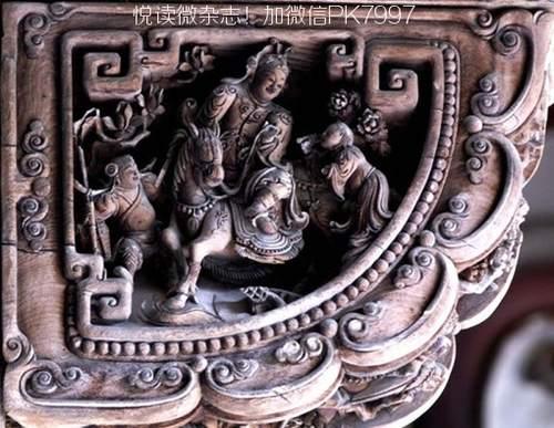 中国木雕古建筑设计图片欣赏