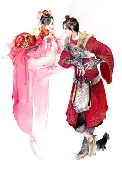 剑网三插画图片