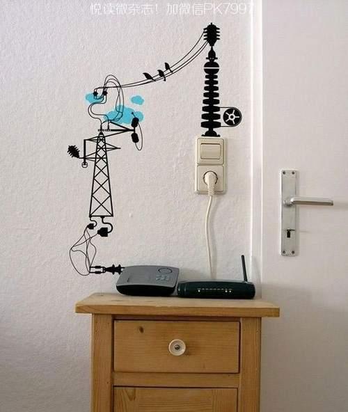 告别乱哄哄,11个整理电线的方法 (8)